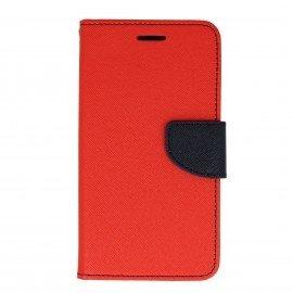Etui portfelowe Fancy na telefon Huawei Y5 II czerwony