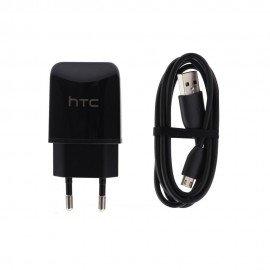 Oryginalna ładowakra sieciowa HTC TCP900 z odpinanym kablem