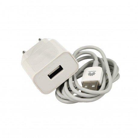 Oryginalna ładowakra sieciowa HuaweiI HW-050100E01 z odpinanym kablem Micor USB