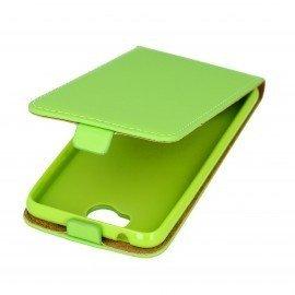 Etui z klapką Flexi do telefonu Huawei Y6 II Compact zielony