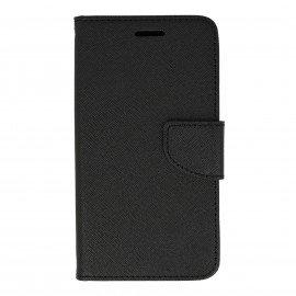 Etui portfelowe Fancy na telefon Huawei Y6 II Compact czarny