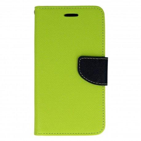 Etui portfelowe Fancy na telefon Huawei Y6 II Compact zielony