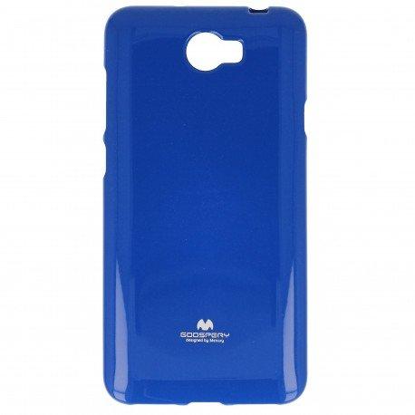 Etui na telefon Jelly Case do Huawei Y6 II Compact granatowy