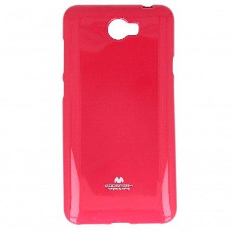 Etui na telefon Jelly Case do Huawei Y6 II Compact różowy