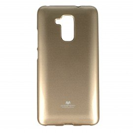 Etui na telefon Jelly Case do Huawei Y6 II Compact złoty