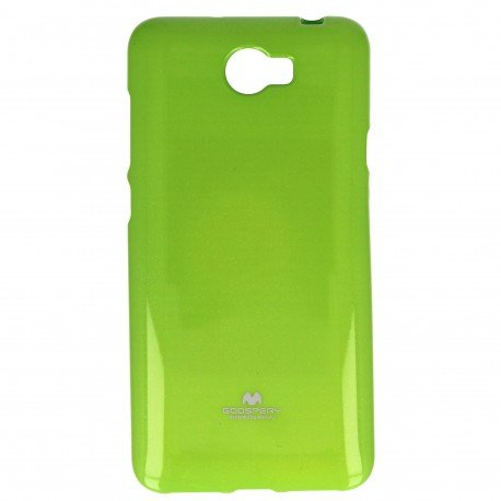 Etui na telefon Jelly Case do Huawei Y6 II Compact zielony