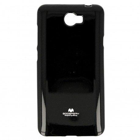 Etui na telefon Jelly Case do Huawei Y6 II Compact czarny