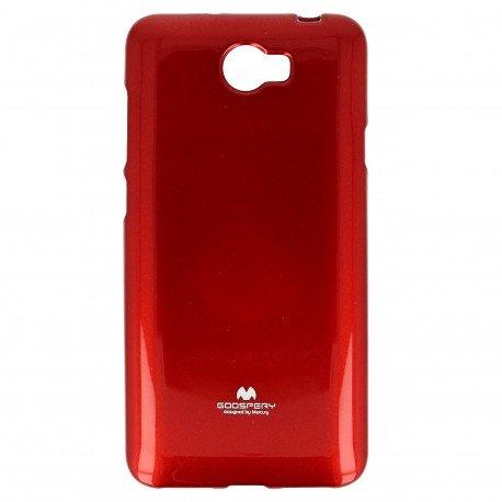 Etui na telefon Jelly Case do Huawei Y6 II Compact czerwony