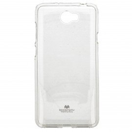 Etui na telefon Jelly Case do Y6 II Compact transparentny
