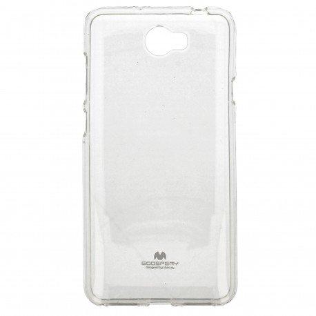 Etui na telefon Jelly Case do Huawei Y6 II Compact transparentny