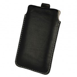 Etui wsuwka skórzana De Lux na telefon Huawei Y6 II Compact