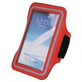 Etui do biegania na ramię Huawei Y6 II Compact czerwony