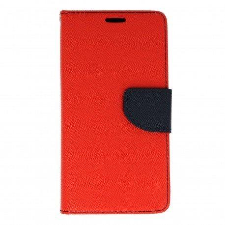 Etui portfelowe Fancy na telefon Huawei Y6 II czerwony