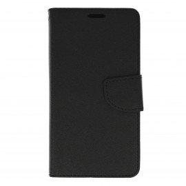 Etui portfelowe Fancy na telefon Huawei Y6 II czarny