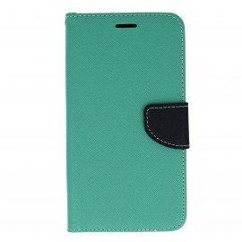 Etui portfelowe Fancy na telefon Huawei Y6 II miętowy