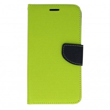 Etui portfelowe Fancy na telefon Huawei Y6 II zielony