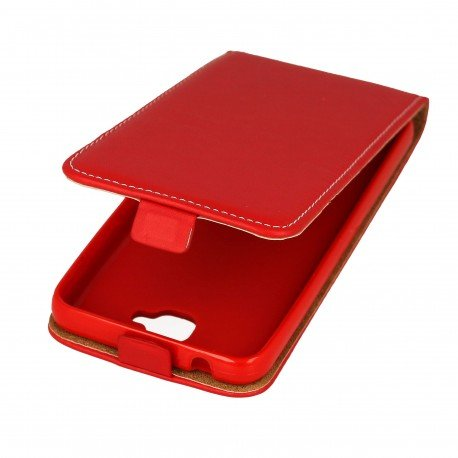 Etui z klapką Flexi do telefonu Huawei Y6 II czerwony