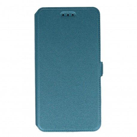 Etui na telefon Pocket Book do Huawei Y6 II morski