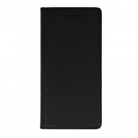 Etui boczne z klapką magnet book Huawei Y6 II czarny