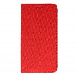 Etui boczne z klapką magnet book Huawei Y6 II czerwony