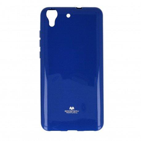 Etui na telefon Jelly Case do Huawei Y6 II granatowy