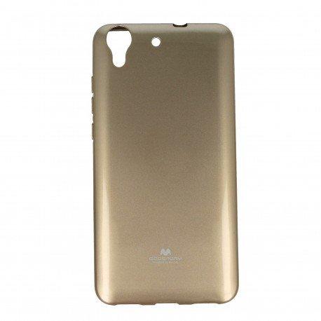 Etui na telefon Jelly Case do Huawei Y6 II złoty