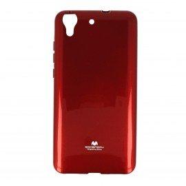Etui na telefon Jelly Case do Huawei Y6 II czerwony