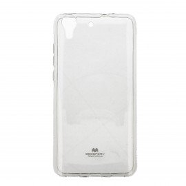 Etui na telefon Jelly Case do Huawei Y6 II transparentny