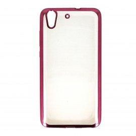 Etui nakładka na telefon Clear Case do Huawei Y6 II różowy