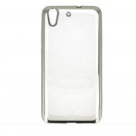Etui nakładka na telefon Clear Case do Huawei Y6 II srebrny