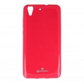 Etui na telefon Halssen Jelly do Huawei Y6 II różowy
