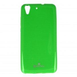 Etui na telefon Halssen Jelly do Huawei Y6 II zielony