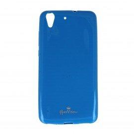 Etui na telefon Halssen Jelly do Huawei Y6 II niebieski