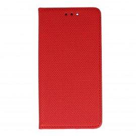 Etui boczne z klapką magnet book Huawei Nova czerwony