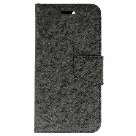 Etui portfelowe Fancy na telefon Huawei Nova czarny
