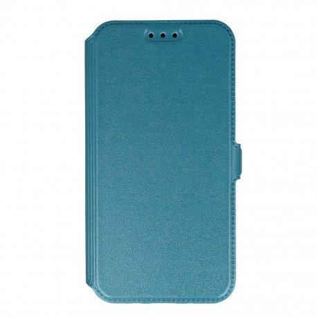 Etui na telefon Pocket Book na Samsung Galaxy J3 2016 J320F niebieski