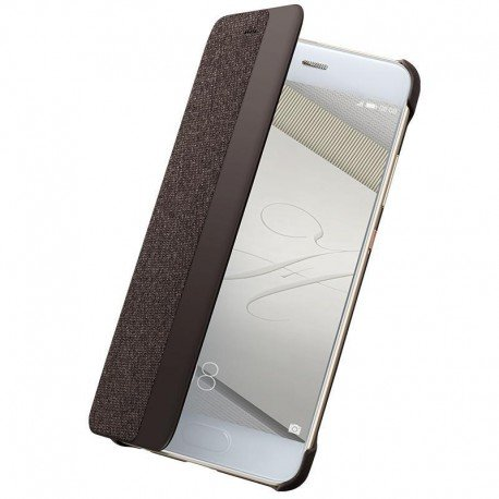 Oryginalne etui Smart Cover do Huawei P10 brązowy