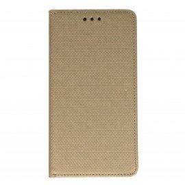 Etui boczne z klapką magnet book Huawei Nova PLUS złoty
