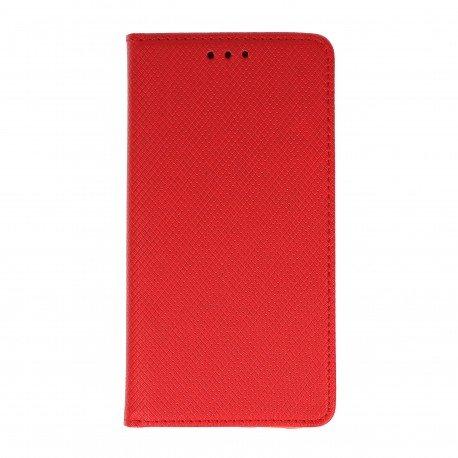 Etui boczne z klapką magnet book Huawei Nova PLUS czerwony