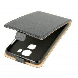 Etui z klapką Flexi do telefonu Huawei Nova PLUS czarny