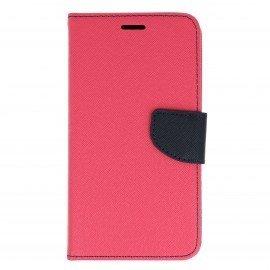 Etui portfelowe Fancy na telefon Huawei Nova PLUS różowy