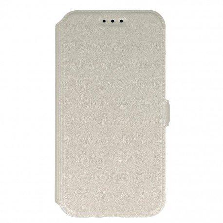 Etui na telefon Pocket Book na Samsung Galaxy J3 2016 J320F biały