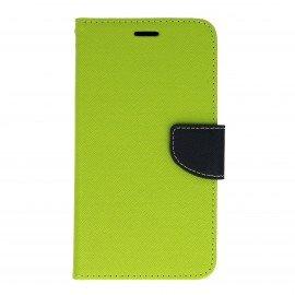 Etui portfelowe Fancy na telefon Huawei Nova PLUS zielony