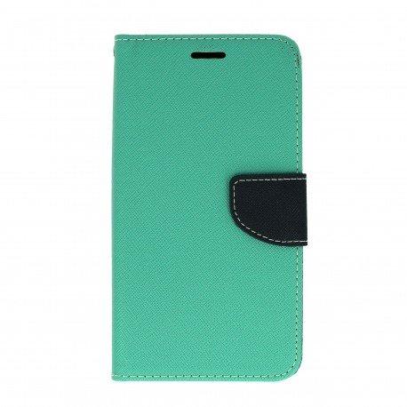 Etui portfelowe Fancy na telefon Huawei Nova PLUS miętowy