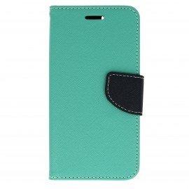 Etui portfelowe Fancy na telefon Huawei Nova miętowy