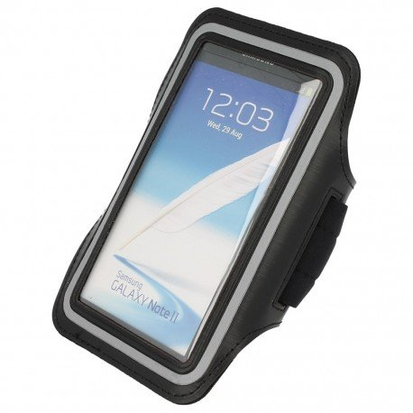 Etui do biegania na ramię iPhone 5 czarny