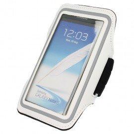 Etui do biegania na ramię iPhone 5S biały