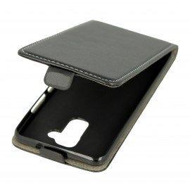 Etui z klapką Flexi do telefonu Asus Zenfone 3 Max (ZC520TL) czarny