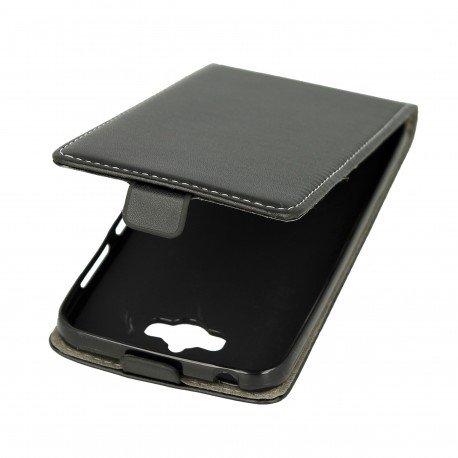 Etui z klapką Flexi do telefonu Asus Zenfone MAX (ZC550KL) czarny