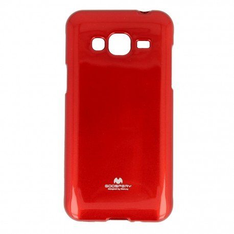 Etui na telefon Jelly Case do Samsung Galaxy J3 2016 J320F czerwony
